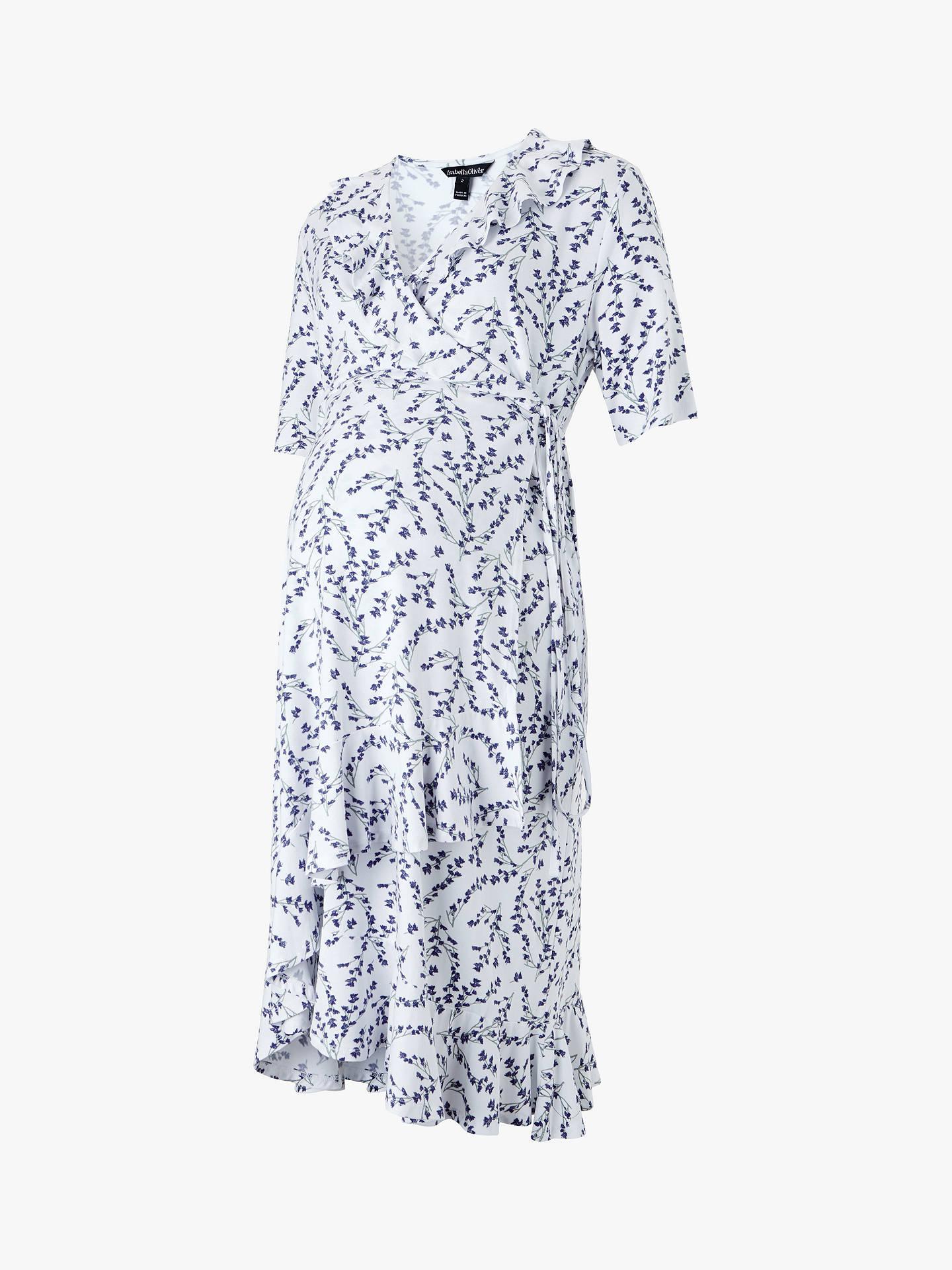 9ff51c30ab9 ... Buy Isabella Oliver Lullah Floral Wrap Over Maternity Dress