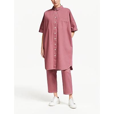 Kin Denim Oversized Shirt Dress, Applebutter