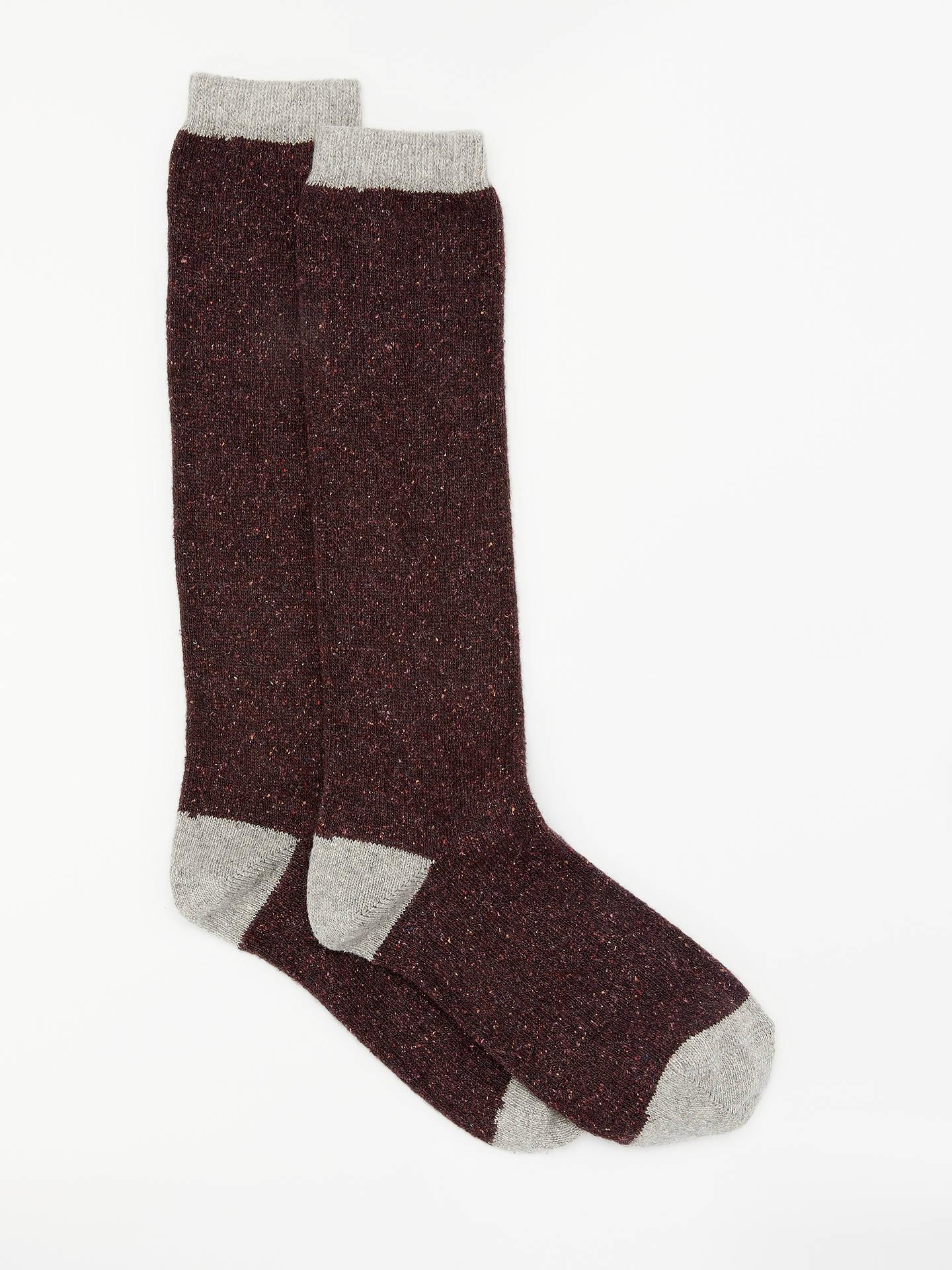 85c88be6f95 Buy John Lewis   Partners Wool and Silk Blend Knee High Socks