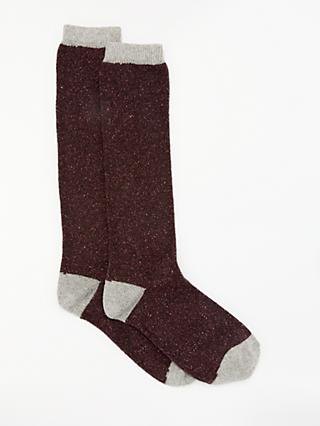 2474a055e26 John Lewis   Partners Wool and Silk Blend Knee High Socks