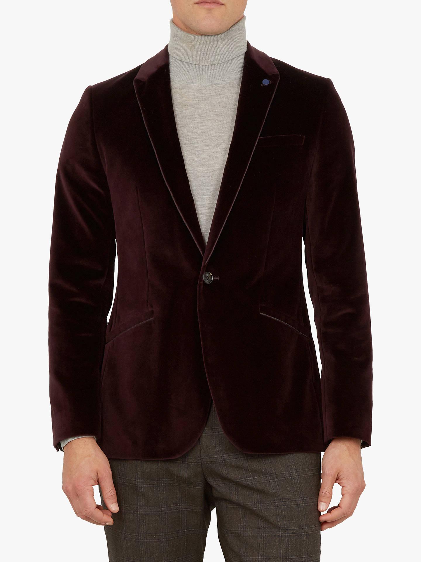 46d7bc30aa03 Ted Baker Maribo Velvet Jacket at John Lewis   Partners