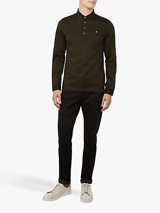 Ted Baker Fruitpa Long Sleeve Polo Shirt