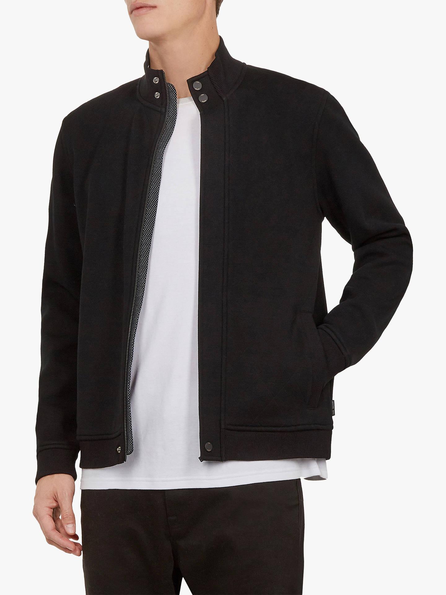 b9fb4d3bb Buy Ted Baker Honycmb Quilted Funnel Neck Jacket