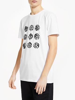 7e2039347 Kin Short Sleeve Circle Graffiti T-Shirt