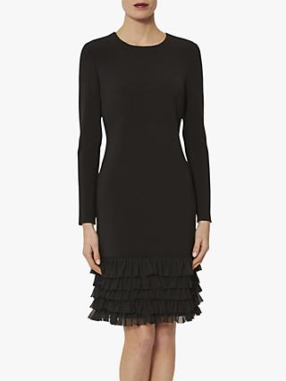 Gina Bacconi Nigella Crepe Dress, Black