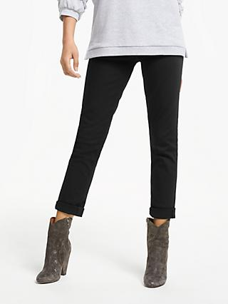 AND/OR Silverlake Straight Leg Jeans, Stay Black