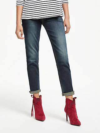 AND/OR Silverlake Straight Leg Jeans, Deja Blue