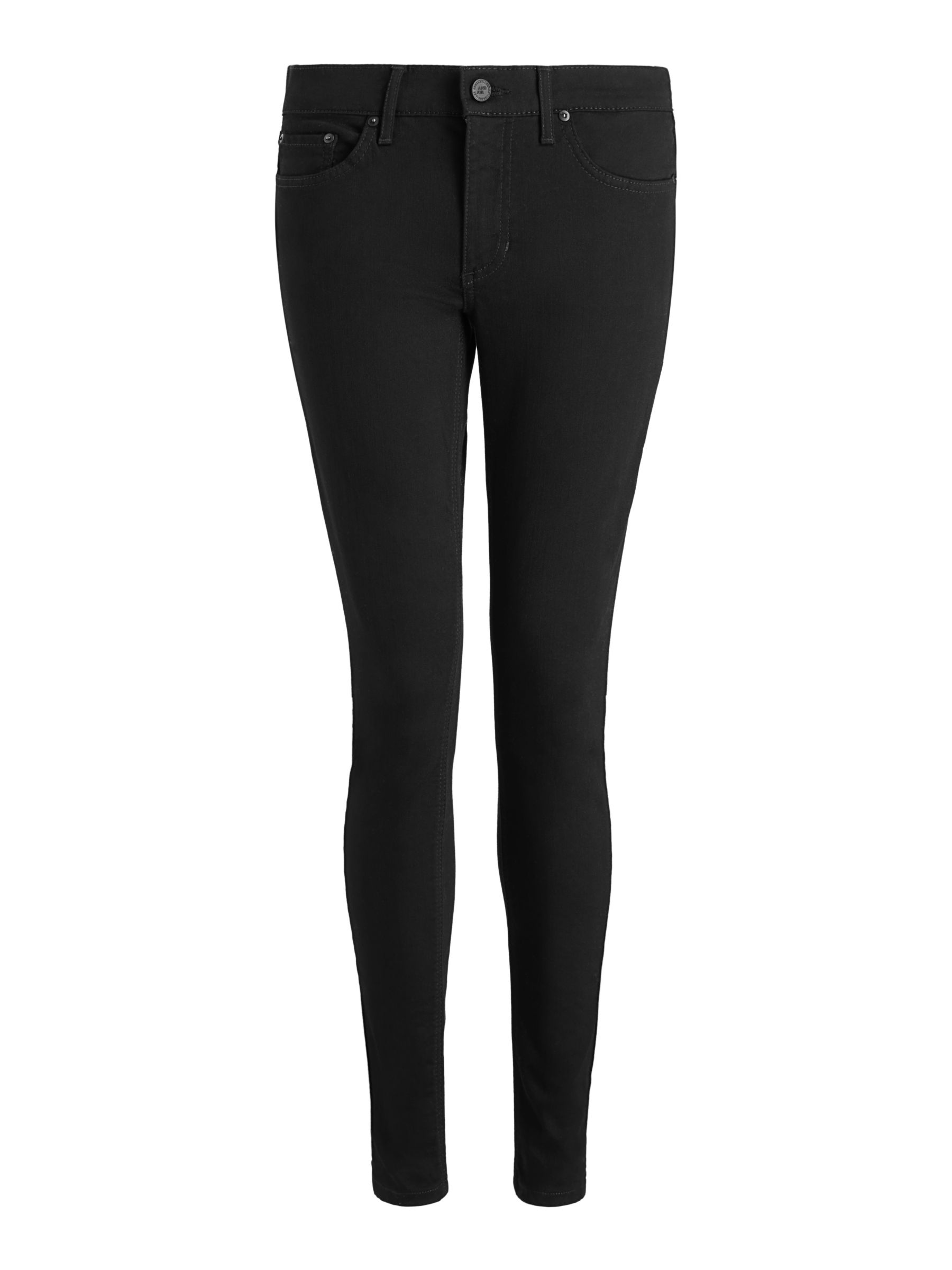 Buy AND/OR Abbot Kinney Skinny Jeans, Stay Black, 26 Online at johnlewis.com