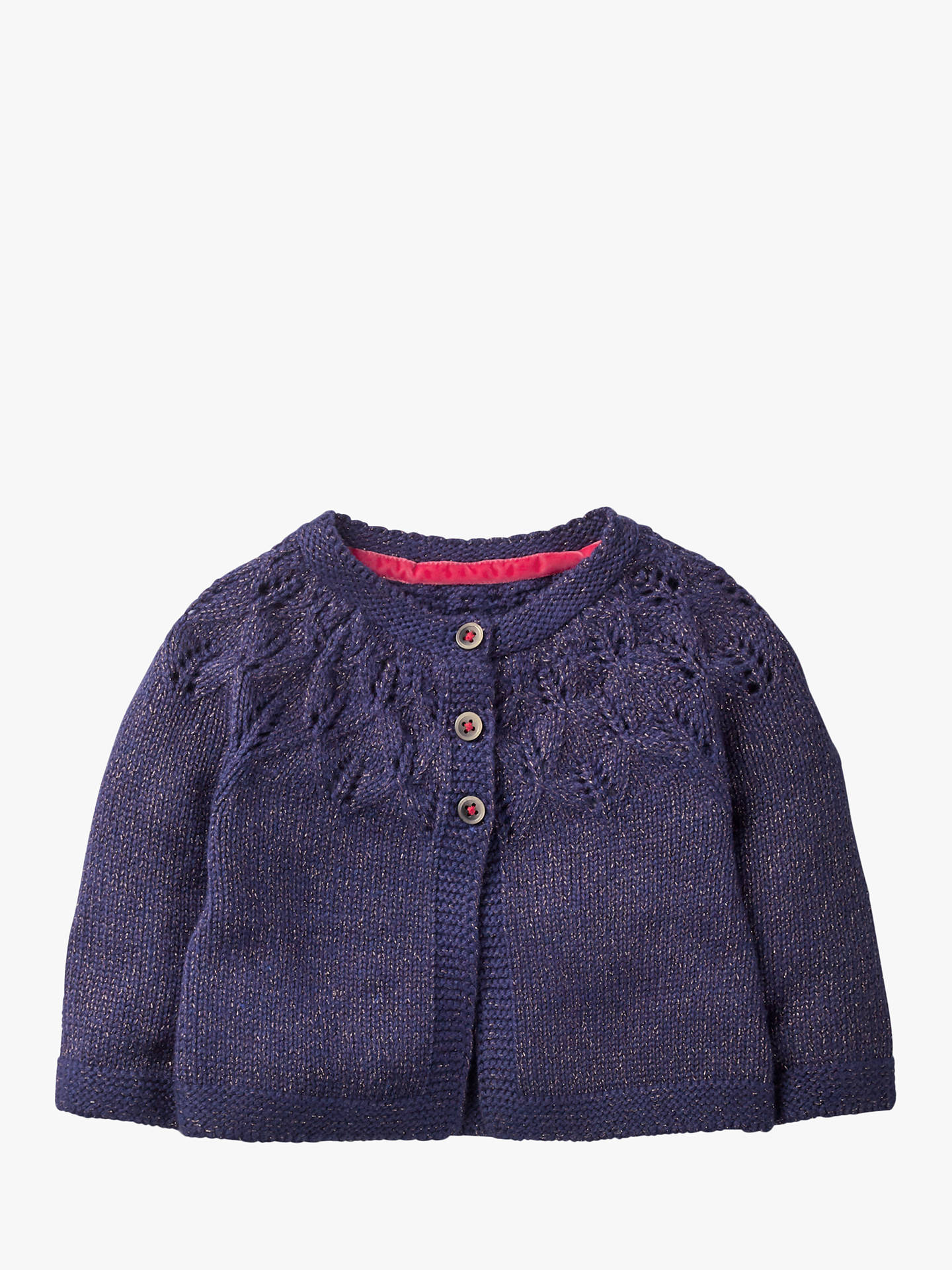 BuyMini years 3 Baby Prussian Blue Cosy Cardigan 2 Boden at johnlewis Online r8Fqpr