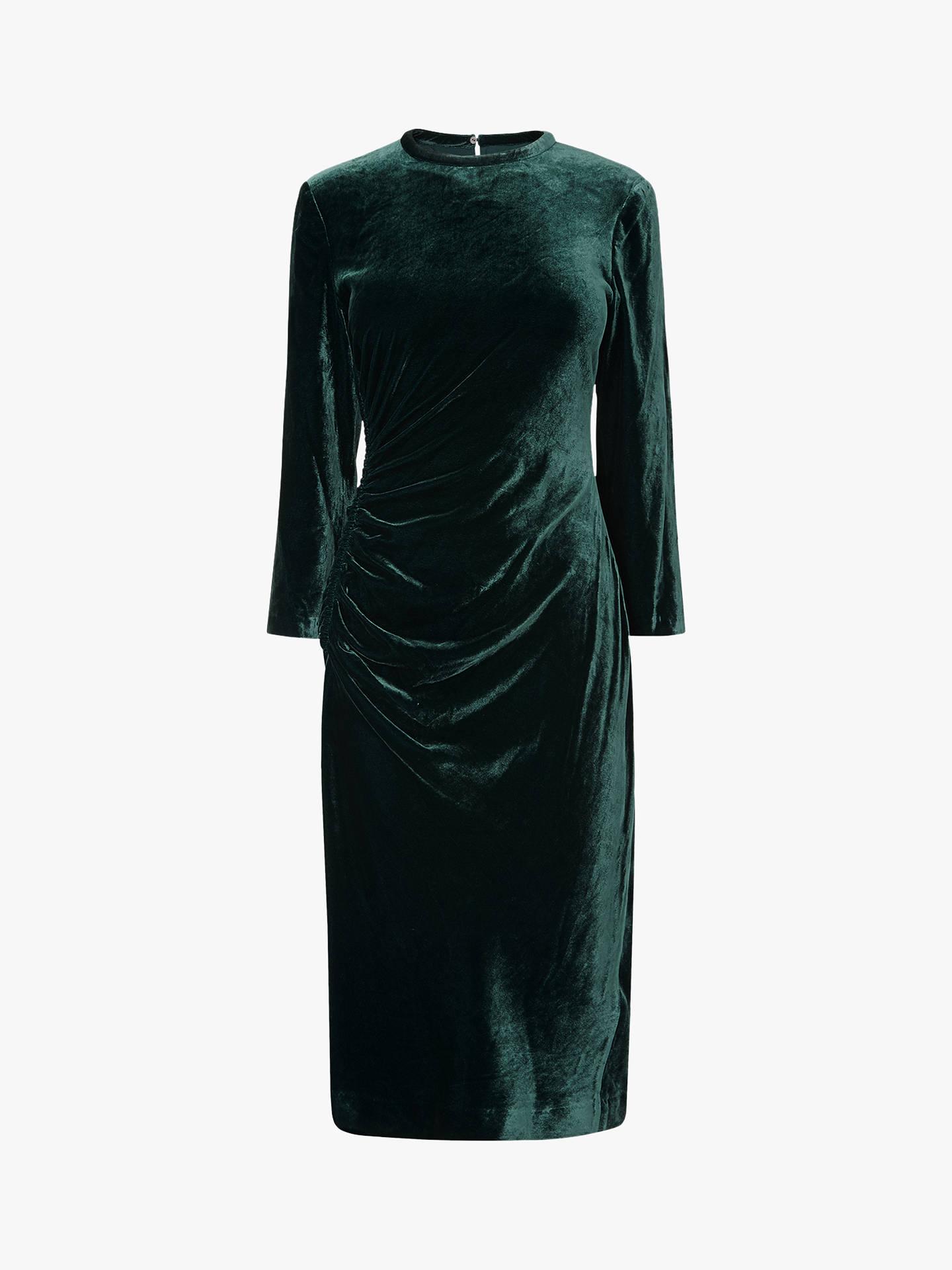 37560597a0 L.K.Bennett Izzy Velvet Dress at John Lewis   Partners