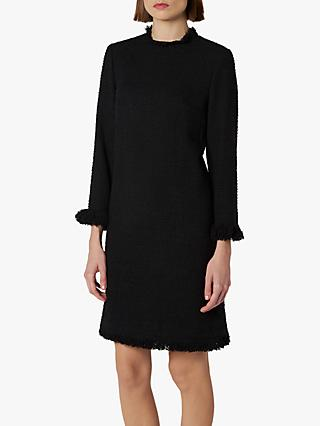 L.K.Bennett Myia Tweed Dress, Black