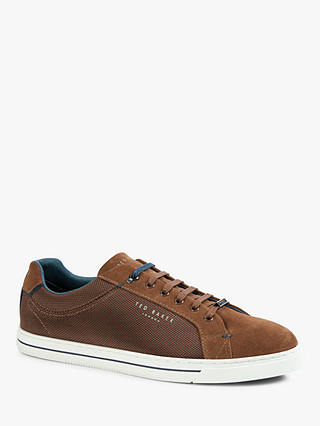 Buy Ted Baker Eeril Trainers, Tan, 7 Online at johnlewis.com