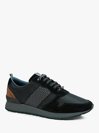 Ted Baker Lotpen Trainers, Black/Tan