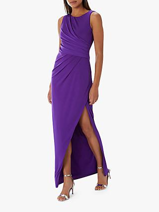 Coast Alexandra Jersey Maxi Dress, Purple