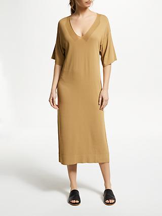 Modern Rarity J.JS Lee Intarsia Dress, Camel