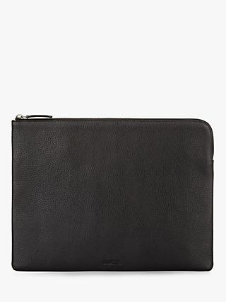 Jaeger Leather Portfolio, Black