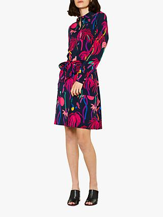 Paul Smith Urban Jungle Dress, Navy/Multi