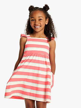 Little Joule Girls' Tyler Jersey Dress, Pink