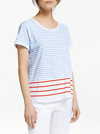189d38139bc Collection WEEKEND by John Lewis Graded Stripe Top
