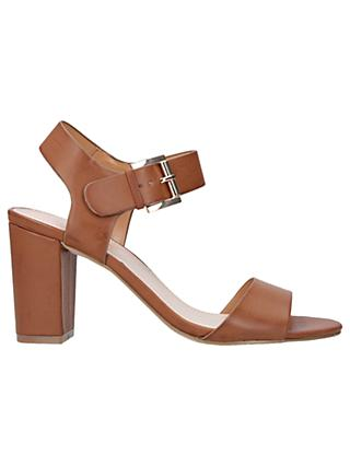 Carvela Sadie Block Heel Sandals, Natural