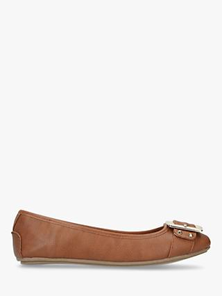 Carvela Mission Buckle Front Slip On Pumps