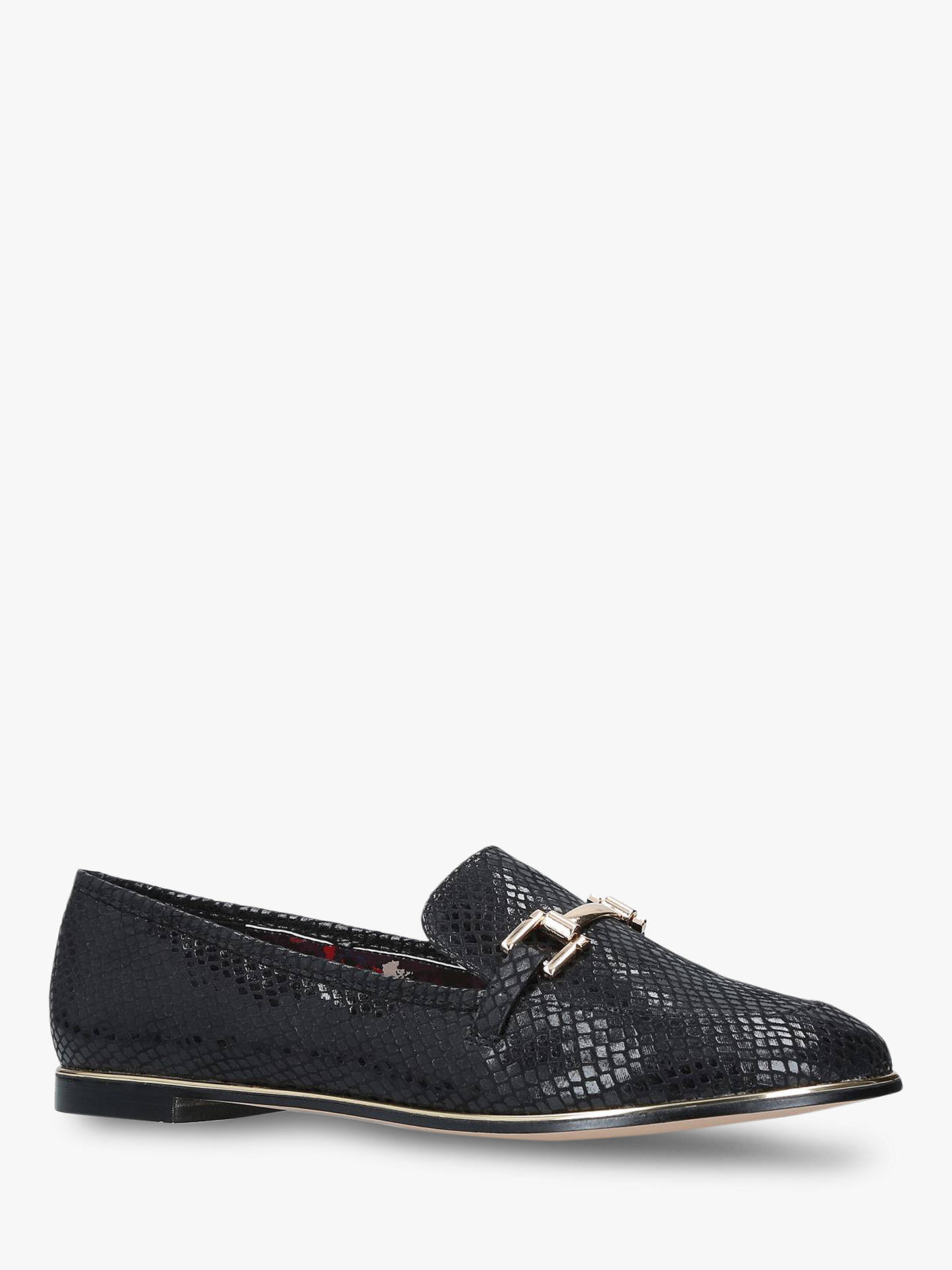 BuyCarvela Maxx Loafers, Black, 8 Online at johnlewis.com