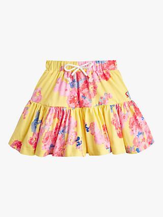 329b1ed5a Little Joule Girls' Liza Jersey Printed Skirt, Yellow