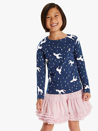 ed0f827ddd374 Little Joule Girls' Unicorn Top, ...