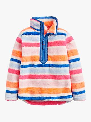 Little Joule Girls' Merridie Stripe Fleece, Multi