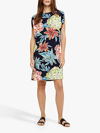 Phase Eight Delany Beach Dress, Navy/Multi