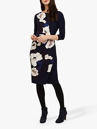 Phase Eight Laudine Print Dress, Navy/Multi