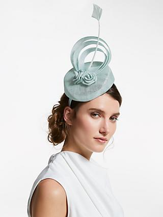 011a3064259 John Lewis   Partners Madonna Loop and Roses Pillbox Fascinator