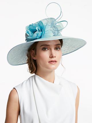 6a7acdc6772 John Lewis   Partners Grace Flower Detail Wide Brim Occasion Hat