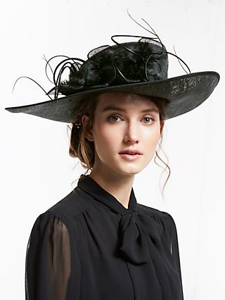 John Lewis   Partners Ivy Flower Detail Side Up Disc Occasion Hat 3d2761a9073b