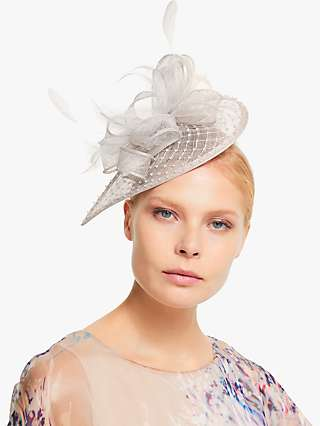 John Lewis & Partners Carina Diamante Teardrop Fascinator