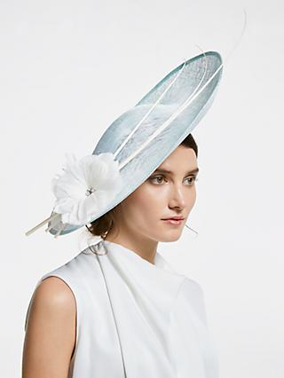 John Lewis   Partners Sienna Flower and Quills Side Disc Occasion Hat 6ede9b55a60