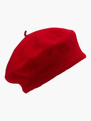 French Connection French Style Beret, Mars Red