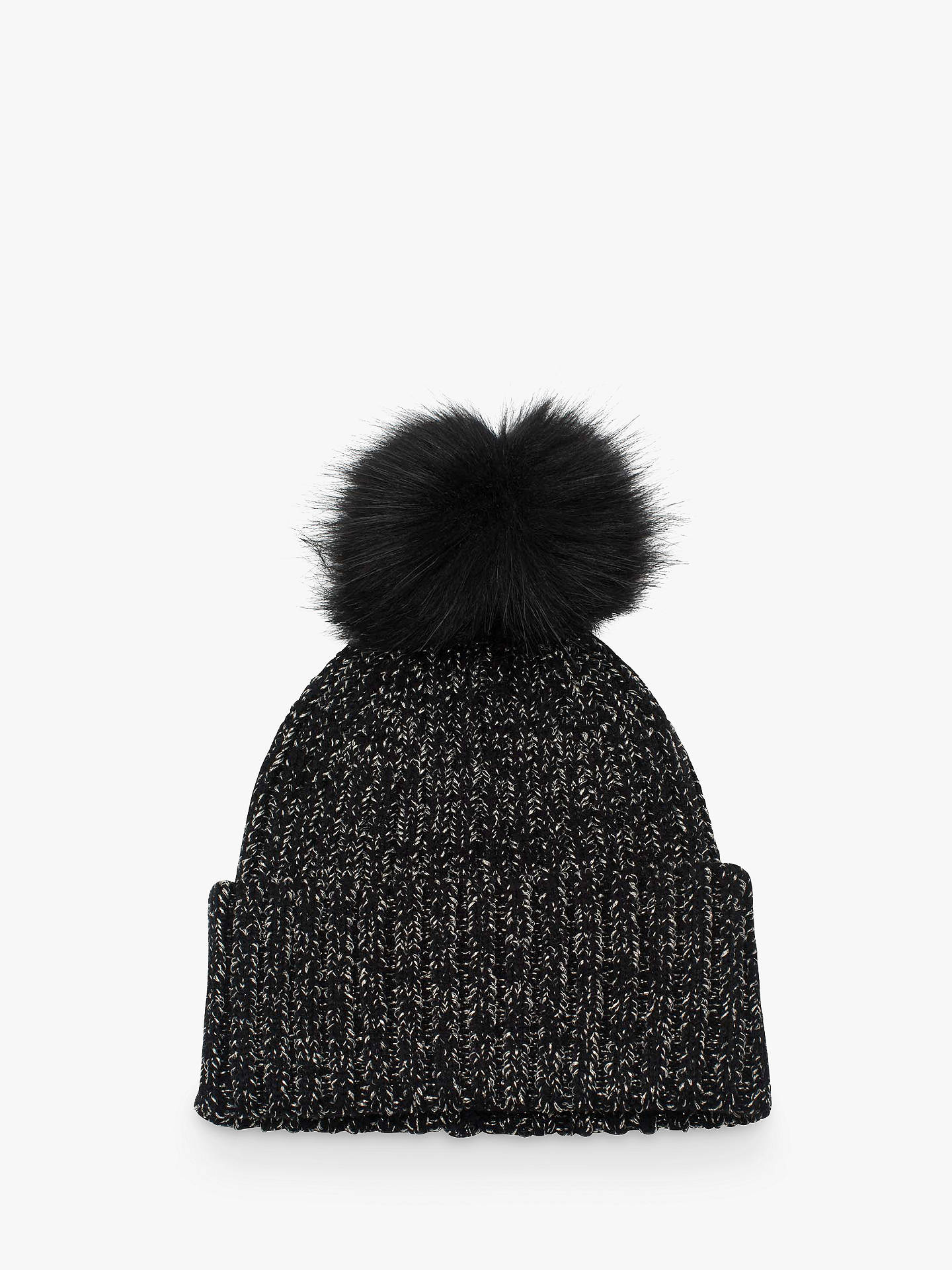 893ab83a608 BuyFrench Connection Turn Bobble Beanie Hat
