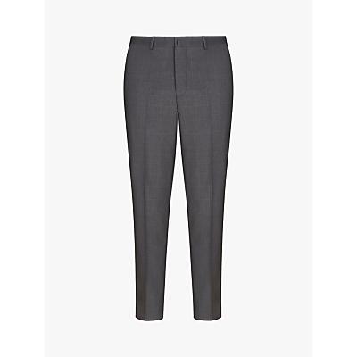 Hackett London Windowpane Check Regular Fit Suit Trousers, Grey