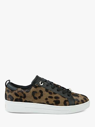 8c299932b7a8 Ted Baker Elzseel Lace Up Trainers