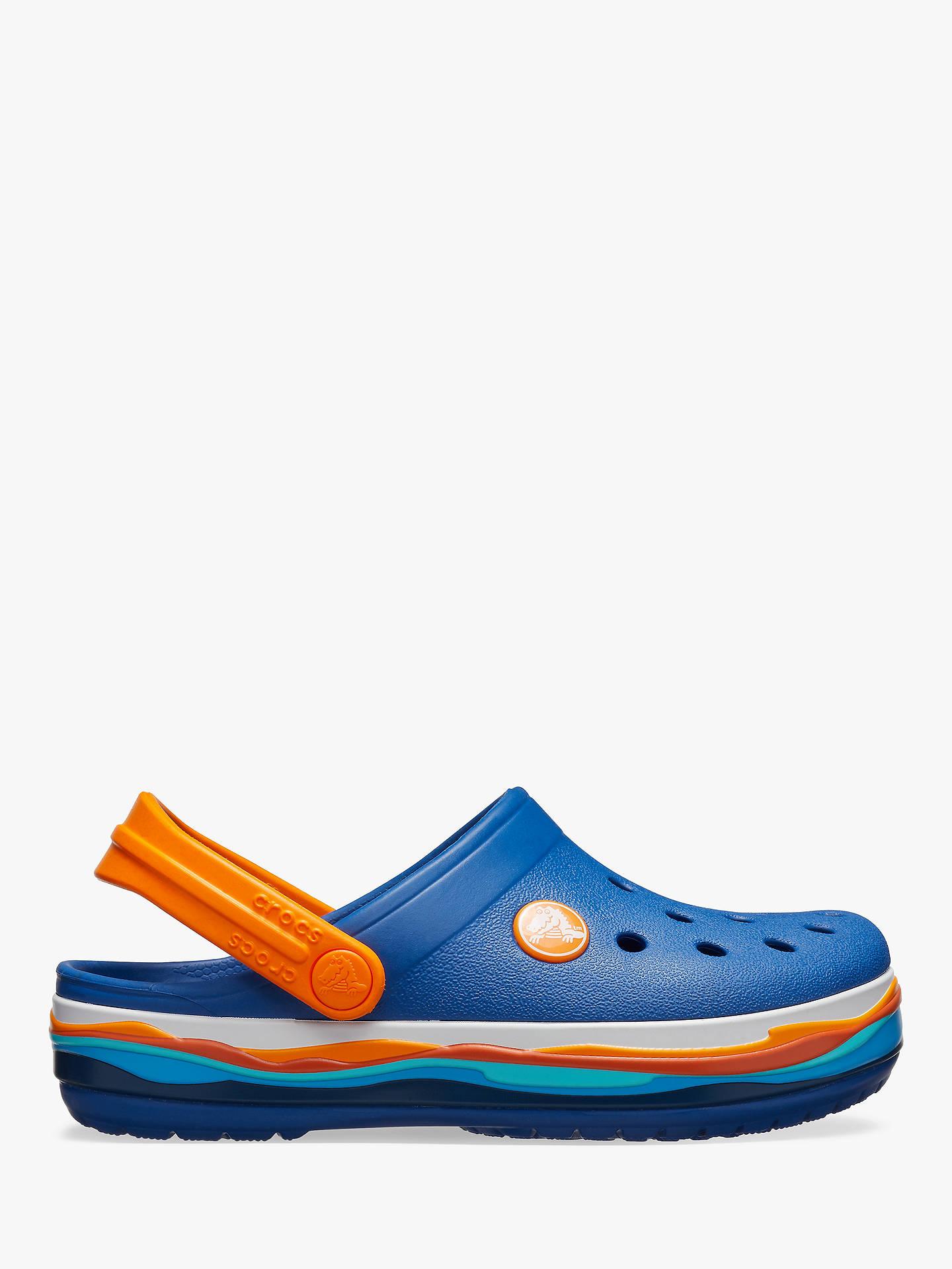 bee67de72 Buy Crocs Children s Classic Wavy Band Croc Clogs