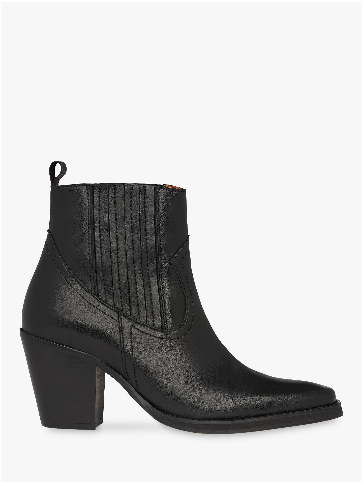 827a3ddd1e9 Whistles Allington Western Ankle Boots at John Lewis & Partners