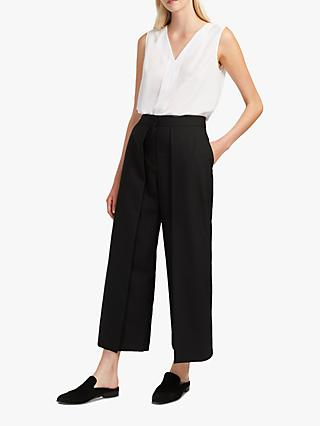 French Connection Cedany Culottes, Black