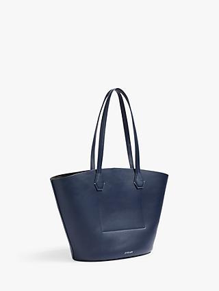 Jigsaw Contrast Shopper Tote Bag 9521de8e04ecd