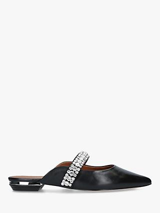 Kurt Geiger London Princely Leather Embellished Mules