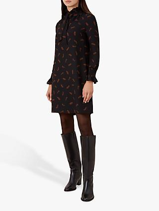 Hobbs Luna Dress, Black Copper