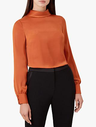 Hobbs Jacqueline Blouse, Copper