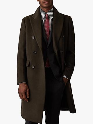 Reiss Carlton Double Breasted Overcoat