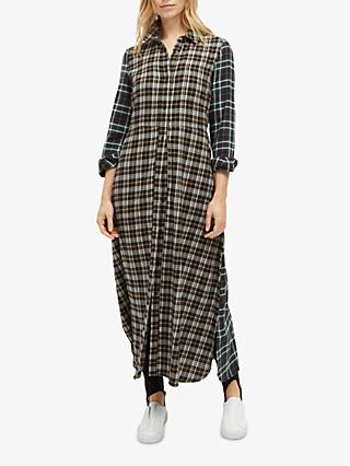 French Connection Este Check Shirt Dress, Multi