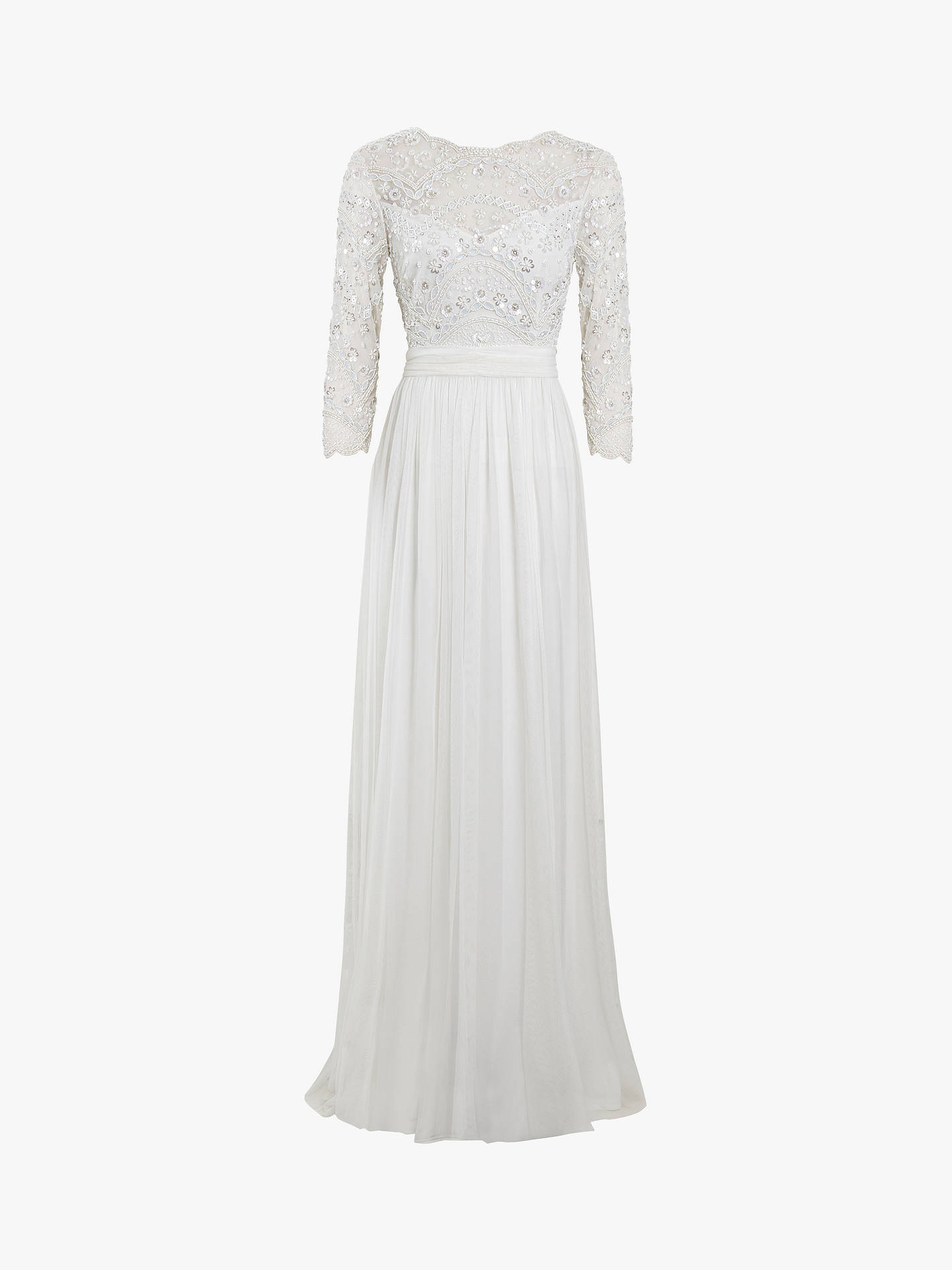 Buy Raishma Bridal Gown, White, 8 Online at johnlewis.com